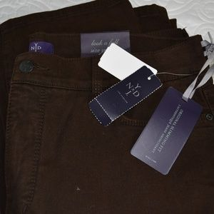 NYDJ Brown Skinny Jeans Size 16  - New With Tags